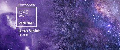 Ultra Violet Farbe des Jahres 2018