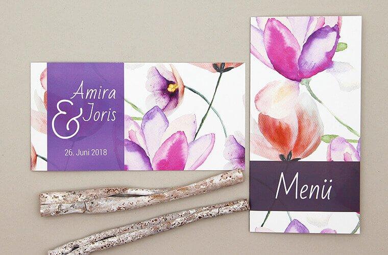 Ultra Violet Hochzeit Amira-Joris