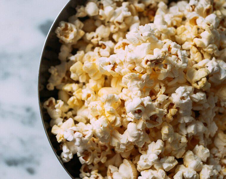 Snack-Ideen: Popcorn am Kindergeburtstag